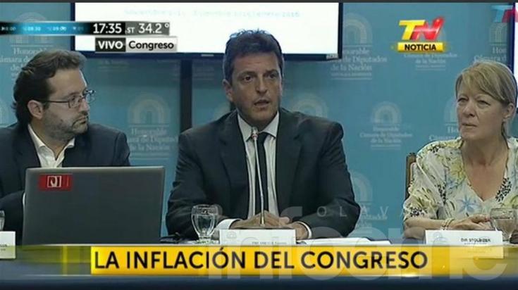 IPC Congreso: la inflación de enero fue de 3,6%, según la oposición