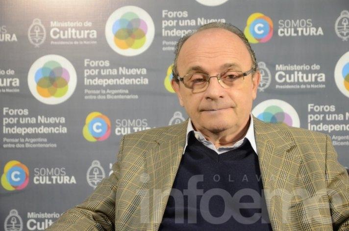 Leopoldo Moreau estará en Olavarría