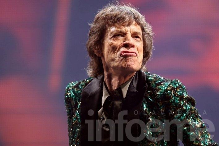 """Mick Jagger: """"Hacen el mejor pogo del mundo"""""""