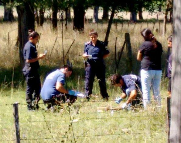 Encontraron el arma con la que asesinaron a la mujer embarazada