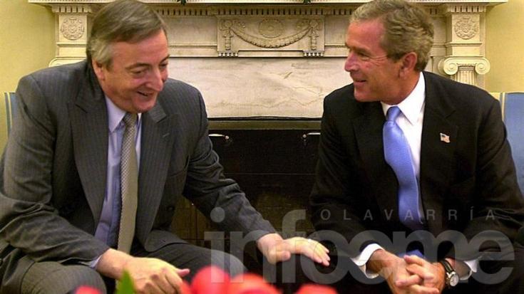 La última visita de un presidente de los EEUU a la Argentina