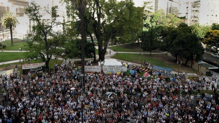 A un año del #18F, renovaron el pedido de justicia por la muerte del fiscal Alberto Nisman
