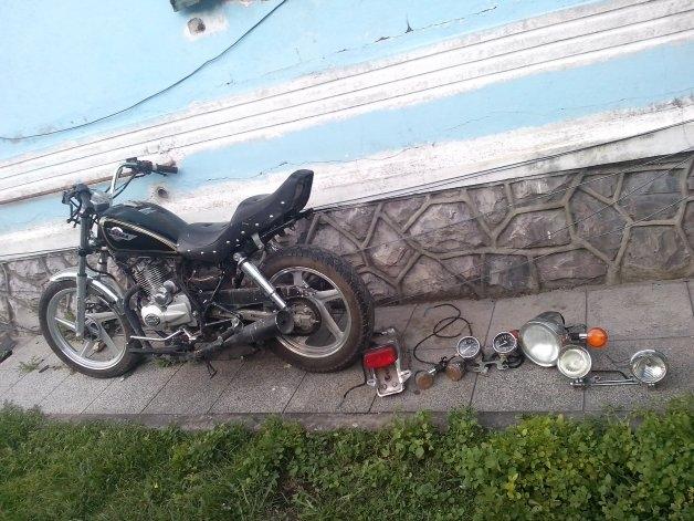 Desbaratan una banda que robaba y desguazaba motos en Olavarría