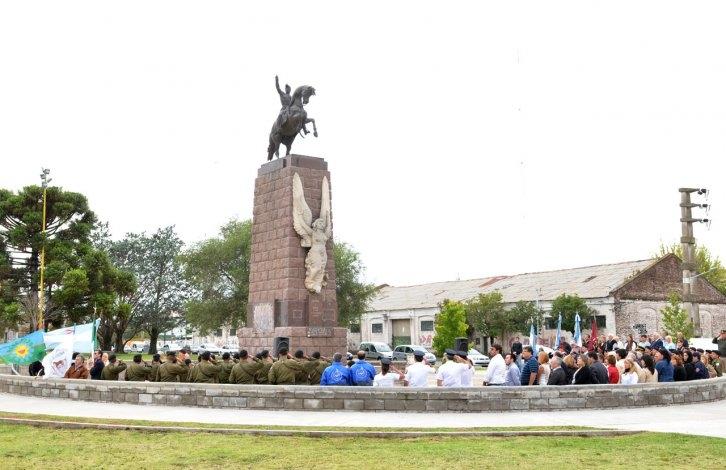 Acto por el nacimiento del General José de San Martín