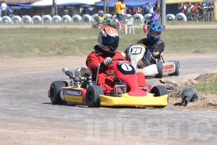 El karting abrió la temporada en Laprida