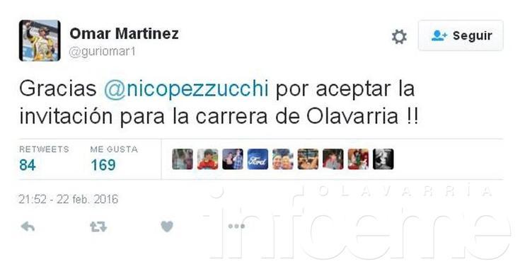 """TC: Pezzucchi vuelve a la """"Máxima"""" como invitado del campeón"""