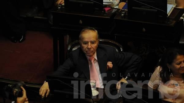 """Menem: """"Muchos sostienen que a Kirchner lo habría matado la mujer"""""""