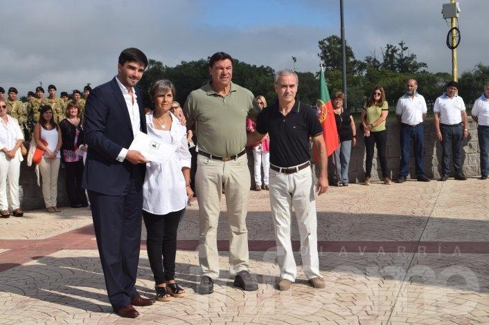 Se realizó el acto por el Aniversario del nacimiento de San Martín