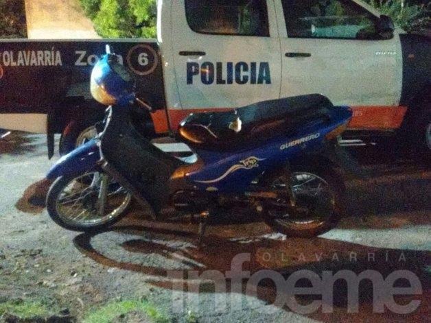 Recuperan dos motos robadas en operativos