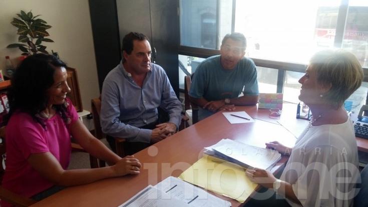 Vitale se reunió con autoridades del Consejo Escolar