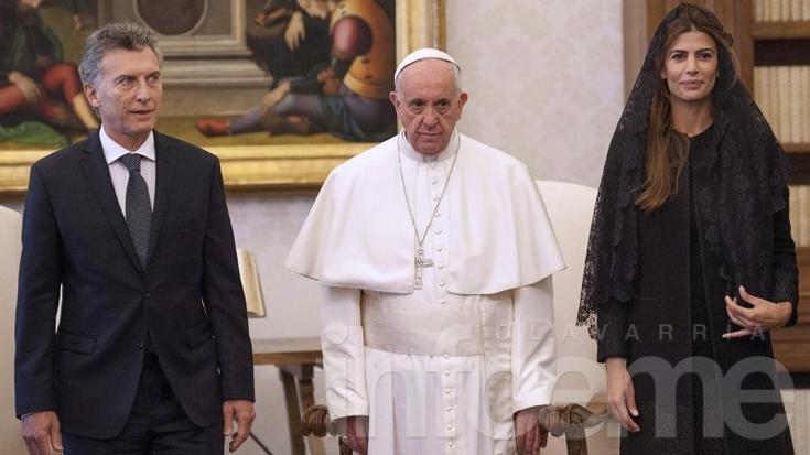 El papa Francisco recibió a Macri durante 22 minutos