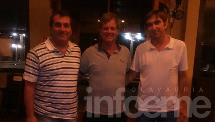 El entrenador Horacio Anselmi estuvo en la Ciudad