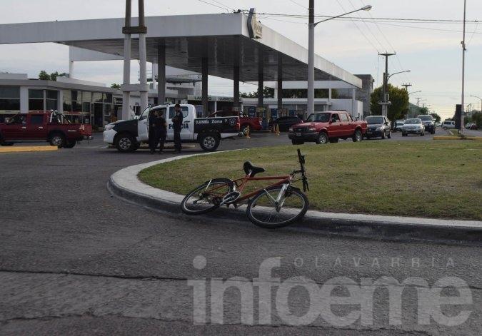 Continúa en estado crítico la ciclista accidentada