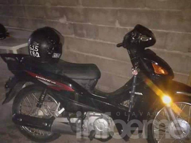 Denuncian robo de una moto y piden ayuda para recuperarla
