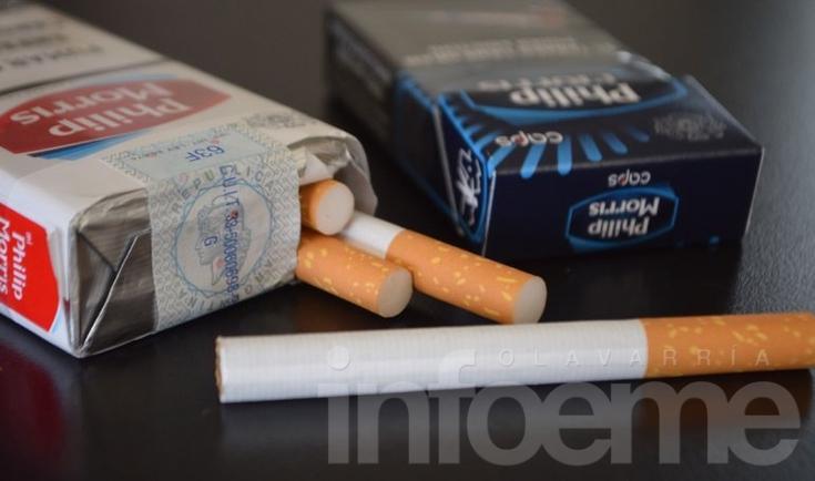 Los cigarrillos aumentaron un 6% y un atado cuesta $50
