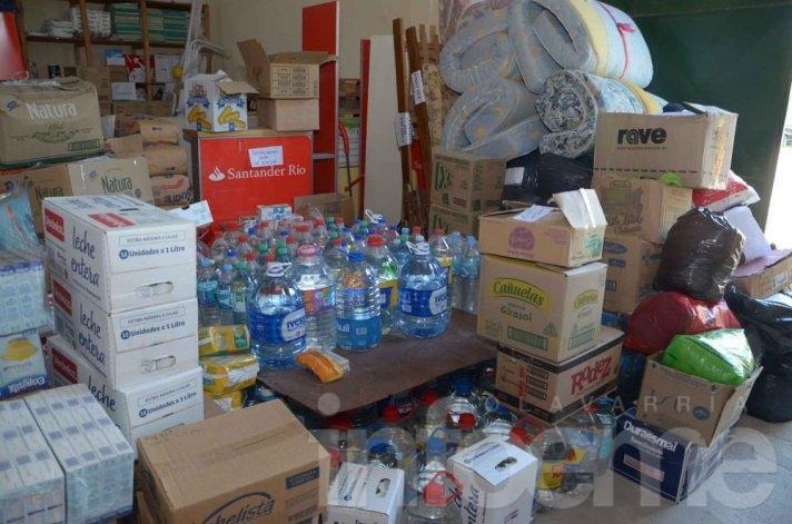 Exitosa campaña de ayuda para afectados en La Emilia