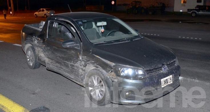 Noche accidentada: cuatro heridos en dos siniestros