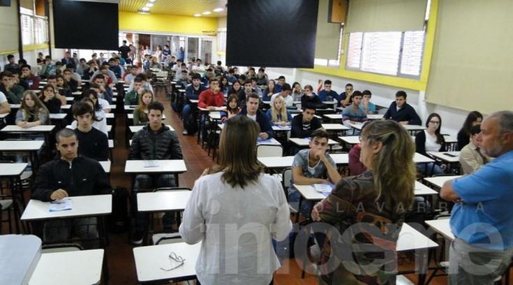 Facultad de Ingeniería: ingresaron unos 200 estudiantes