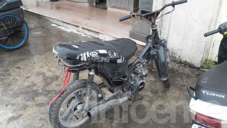 Interceptaron a menor en una moto con pedido de secuestro