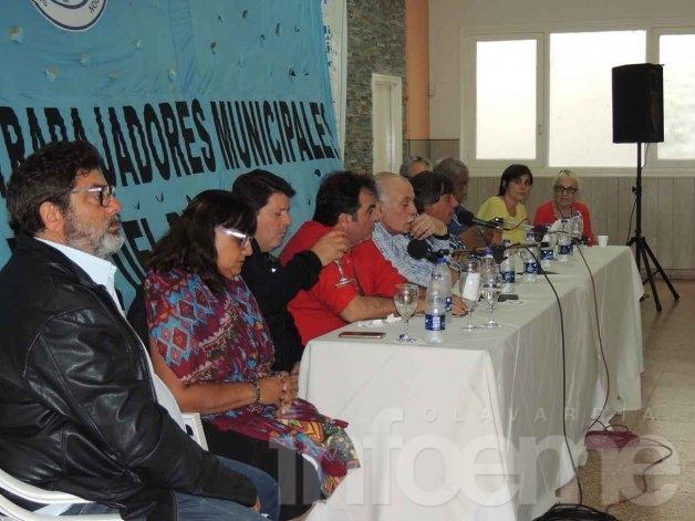 Reunión de la Federación de Sindicatos Municipales en Mar del Plata