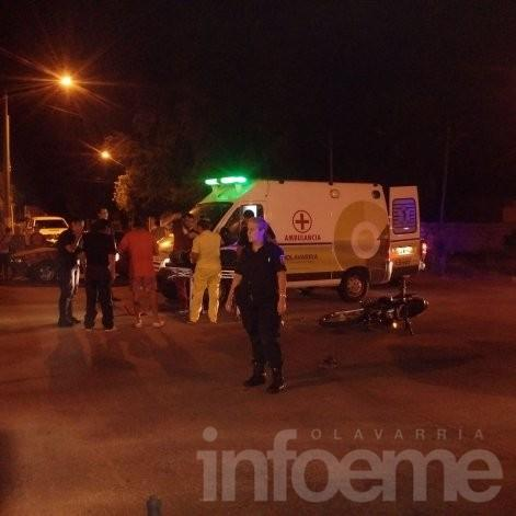 Accidente: dos motociclistas resultaron heridos