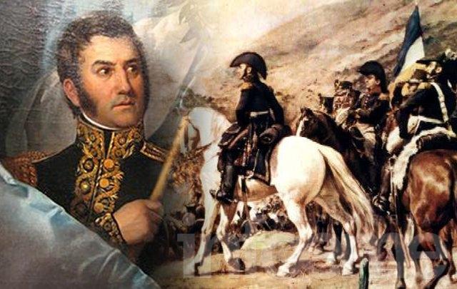 Acto por el 239° aniversario del nacimiento de San Martín
