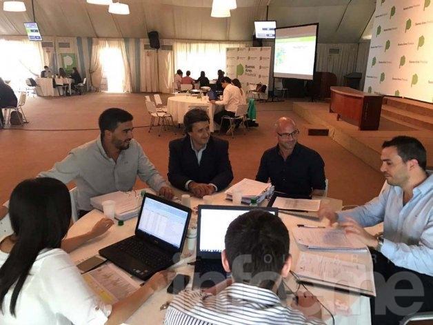 Galli presentó en Provincia el plan de obras del Fondo de Infraestructura