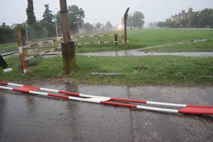 Parte de Defensa Civil luego del fuerte temporal