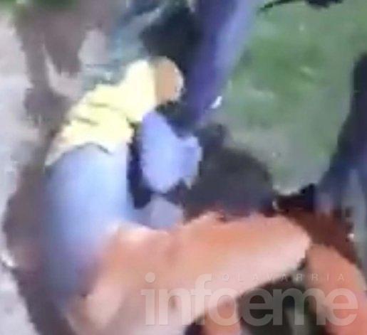 Video: Roban y golpean salvajemente a una joven