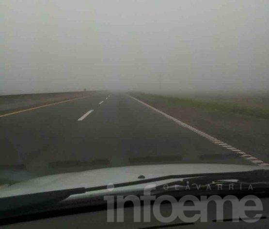Bancos de neblina complican la visibilidad