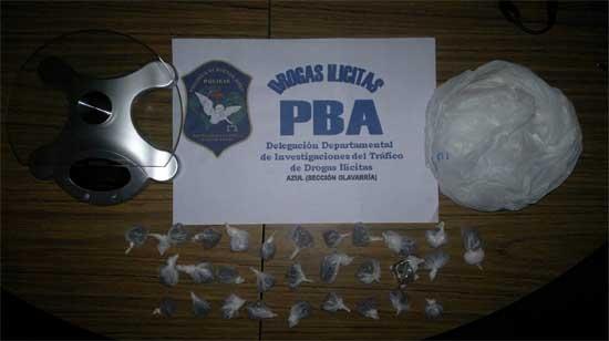 Secuestran droga en dos allanamientos