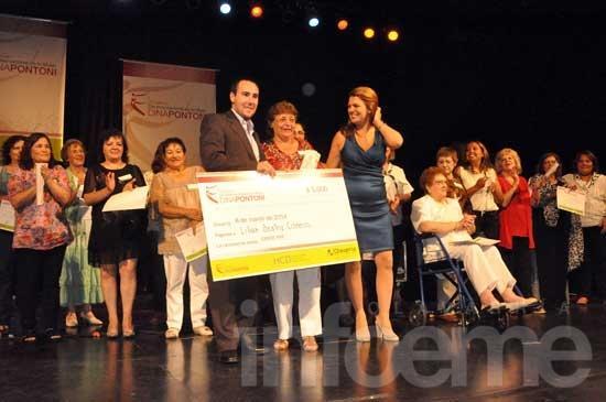 Una dirigente barrial se adjudicó el premio Dina Pontoni