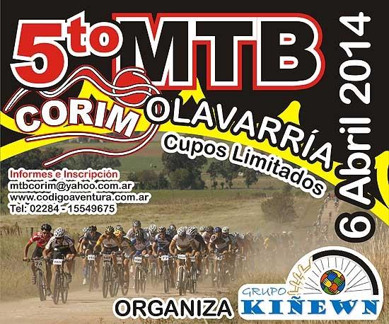 5° carrera de mountain bike a beneficio de CORIM