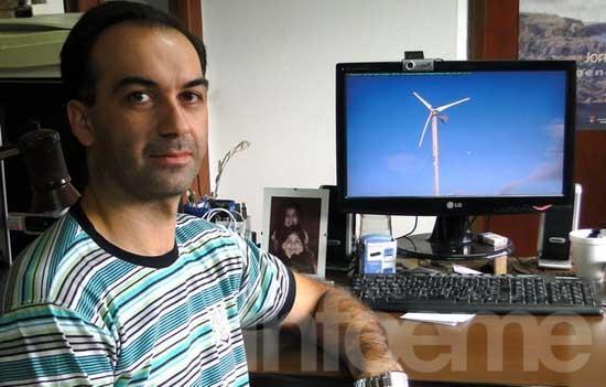 Investigador de la Facultad de Ingeniería diseñó un generador eléctrico para aprovechar la fuerza del viento