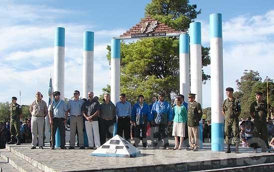 Acto aniversario a 32 años de la guerra de Malvinas