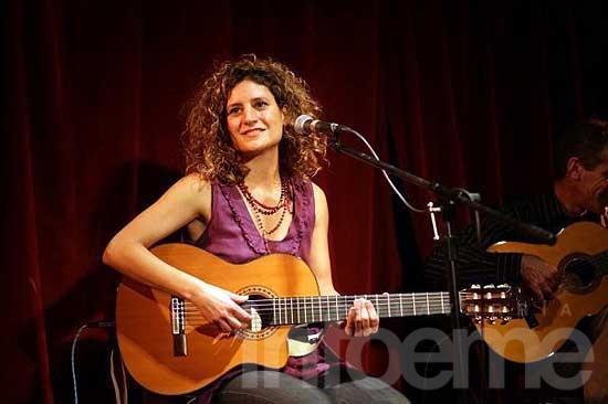 Ana Prada en el homenaje a las mujeres de Olavarría