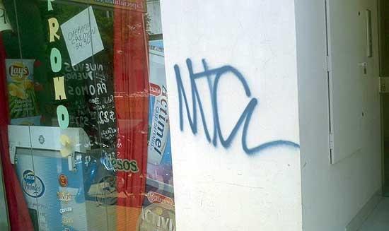 """Impulsan la """"contravención"""" contra los daños por pintadas"""