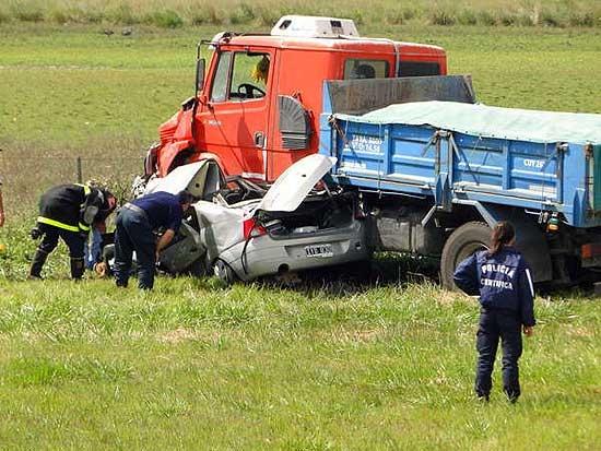 Otra tragedia en la Ruta 3: dos muertos