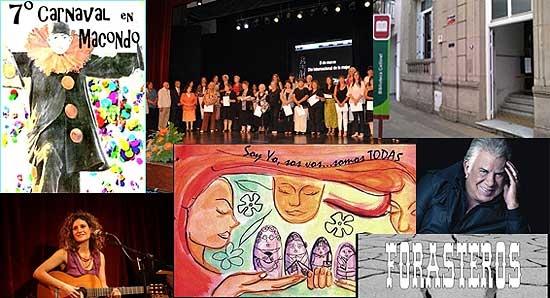 Las celebraciones por el Día de la Mujer marcan el ritmo de la agenda