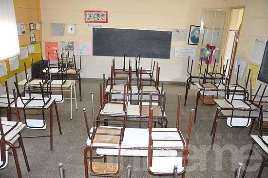 Cuarta jornada de paro docente: total adhesión en secundaria