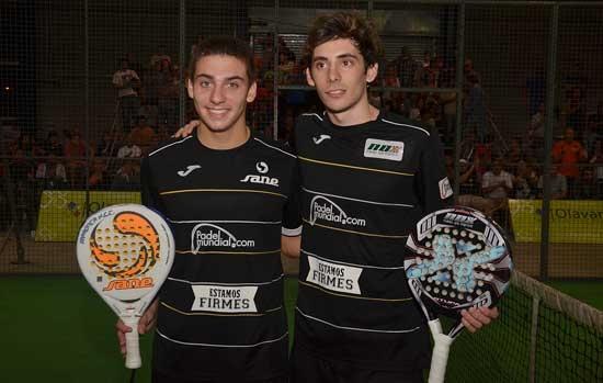 Martín Di Nenno y Franco Stupaczuk se coronaron campeones