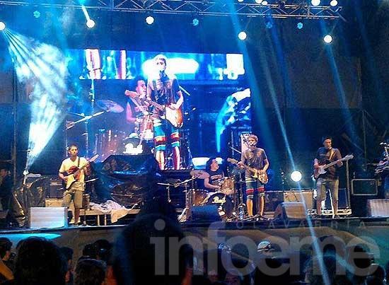 Desmán tocó con reconocidas bandas en Mar del Plata