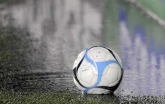 Suspenden actividades deportivas por lluvia