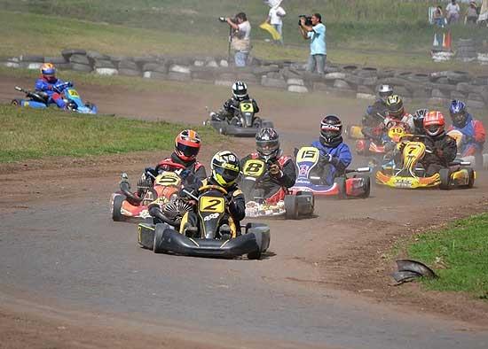 El karting clasificó para la segunda en Laprida