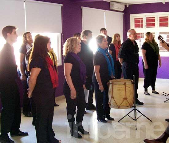 Vox Populi se presentó en el Museo de Villa Alfredo Fortabat