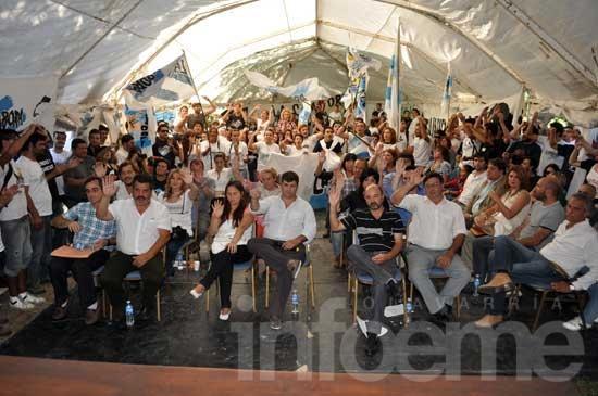El HCD sesionó en Monte Peloni, en una jornada histórica