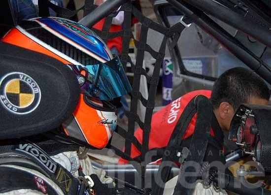 Herrera probó el Clio y ya piensa en Neuquén