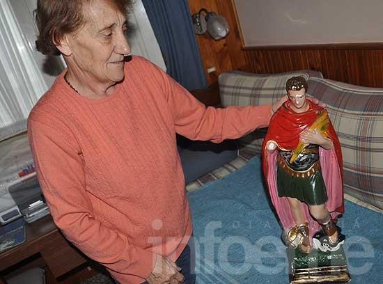 Insólito: se roban imagen de un Santo y la venden en el barrio
