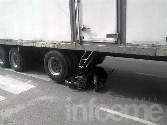 Un olavarriense murió en Tandil al ser arrollado por un camión