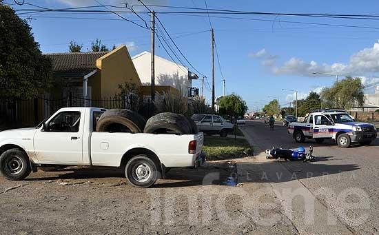 Motociclista de 21 años en estado crítico